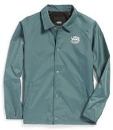 Vans Boy's Torrey Water Resistant Windbreaker Jacket