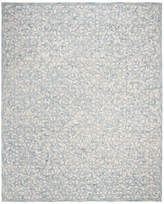 Safavieh Trace Collection TRC103 Rug, Blue/Ivory, 8' X 10'