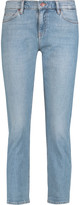 MiH Jeans Tomboy cropped mid-rise slim-leg jeans