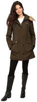 Jessica Simpson Snorkle Anorak w/ Faux Fur Women's Coat