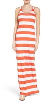 MICHAEL Michael Kors Women's Rugby Stripe Tank Maxi Dress