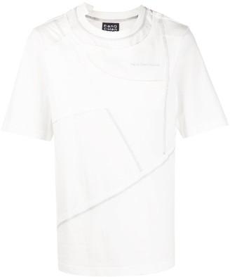 Feng Cheng Wang layered panel T-shirt