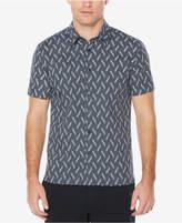 Perry Ellis Men's Big & Tall Floral Check Shirt
