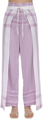 Cecilie Copenhagen Hella Cotton Wrap Pants