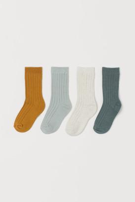 H&M 4-Pack Socks