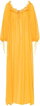 Three Graces London Exclusive to Mytheresa Almost A Honeymoon ramie maxi dress