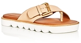 See by Chloe Tiny Scalloped Platform Thong Sandals