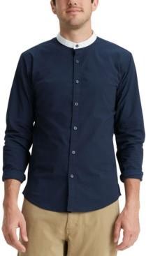 Dockers Regular-Fit Supreme Flex Performance Stretch Contrast Band-Collar Shirt
