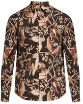 Loewe Dinosaur-print Point-collar Shirt