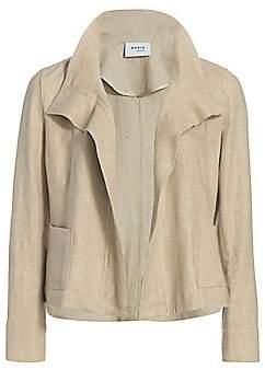 Akris Punto Women's Raw Linen Jacket