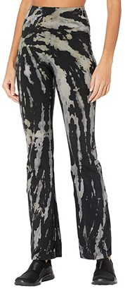 Hard Tail Rolldown Bootleg Flare Pants (Mineral Wash 6) Women's Casual Pants
