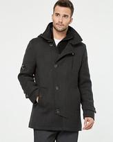 Le Château Wool Twill Car Coat