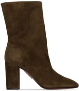 Aquazzura Boogie 85mm slouch boots