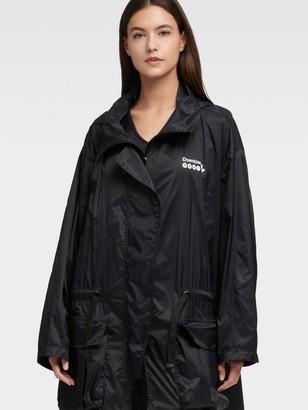 DKNY Mta Packable Tie Waist Coat