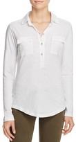 Velvet by Graham & Spencer Cotton Slub Button Shirt