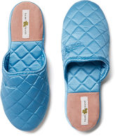 Kumi Kookoon Silk Slippers, Cornflower Blue