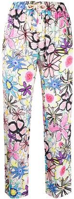 Mira Mikati Floral-Print Track Pants