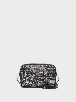 DKNY Thompson Graffiti Camera Bag