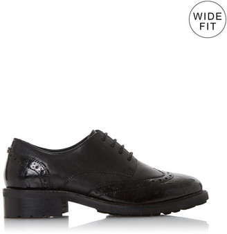 Dune London WF Fion Wide Fit Lace Up Brogues