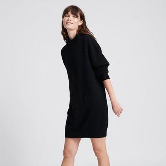 Naadam Wool Cashmere Sweatshirt Dress