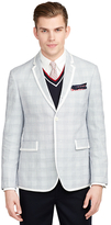 Brooks Brothers Gingham Tipped Sport Coat