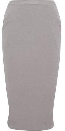 Rick Owens Wrap-Effect Cotton-Blend Crepe Skirt