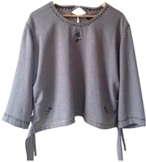 Isabel Marant Brown Polyester Top