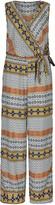 Apricot Multi-Coloured Ikat Print Jumpsuit