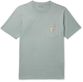 Carhartt Wip Logo-Appliqued Cotton-Jersey T-Shirt