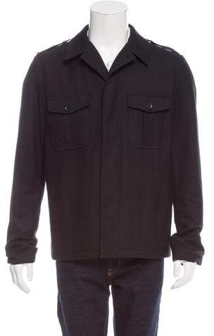 Gucci Wool Utility Jacket