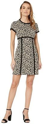 Nanette Lepore Shimmy Shift (Leopard Multi) Women's Dress