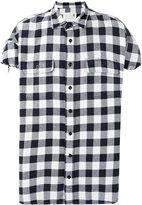 R 13 plaid shirt - men - Cotton - M