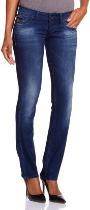 G Star G-STAR Women's Straight Fit Jeans - Blue - Bleu (Dk Aged) - 25/32 (Brand size: 25/32)