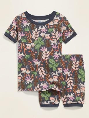 Old Navy Jungle-Print Pajama Set for Toddler & Baby