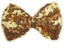 WuyiMC Children Sequin Barrettes Cute Baby Girl Big Bow Hair Accessories (#F)