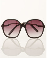 Express oversized square frame sunglasses