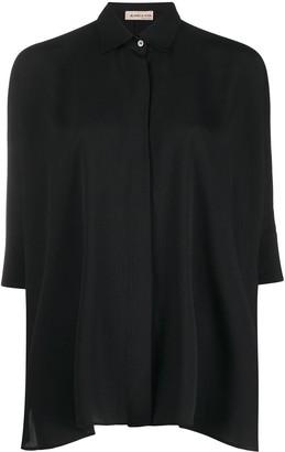 Blanca Vita Carlotta spread-collar shirt
