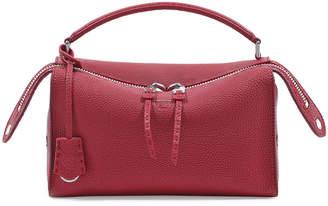 Fendi Selleria Lei Roman Calf Boston Bag
