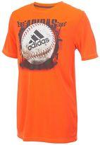adidas Boys 8-20 Baseball Tee