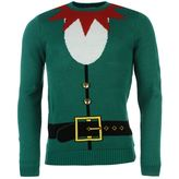 Soulcal Elf Outfit Christmas Jumper
