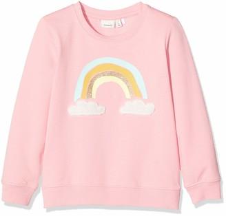 Name It Girl's Nmftaluka Ls SWE Unb Sweatshirts