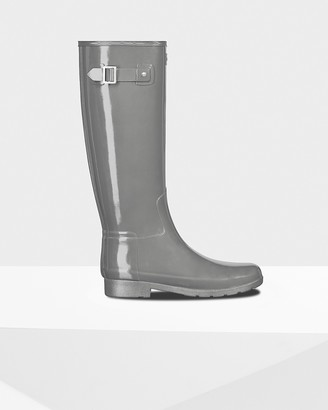 Hunter Women's Refined Slim Fit Tall Gloss Wellington Boots
