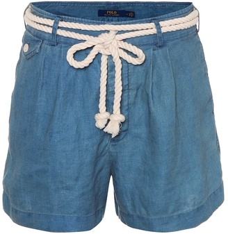 Polo Ralph Lauren Chambray linen shorts