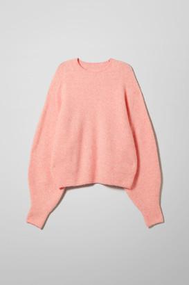Weekday Kendal Sweater - White