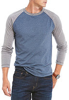 Daniel Cremieux Jeans Colorblock Long-Sleeve Raglan Tee