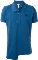 Loewe asymmetric hem polo shirt - men - Cotton - S