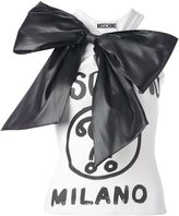Moschino oversized bow tank top - women - Silk/Cotton/Polyester/other fibers - 42