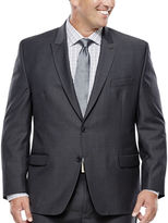 COLLECTION Collection by Michael Strahan Mini-Herringbone Suit Jacket - Big & Tall
