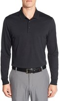 Nike 'Victory' Long Sleeve Dri-FIT Golf Polo