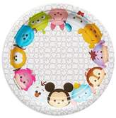 Disney Tsum Tsum Round Disposable Plates - 8ct